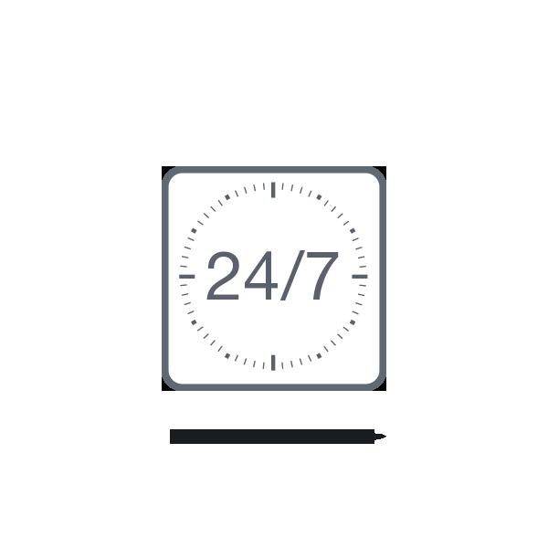 24/7-Betrieb