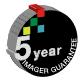 5 year imager guarantee